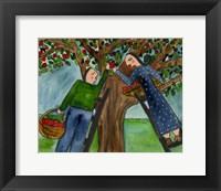 Framed Love Under The Apple Tree Big Diva