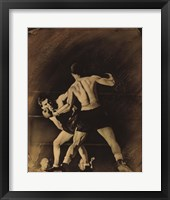 Framed Boxing Match