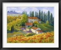 Framed Tuscan Sunlight