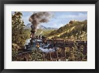 Framed Smoke Steam & Timber