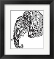 Framed Elephant New