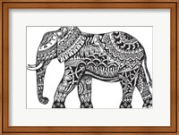 Framed Elephant Side