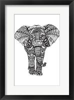 Framed Elephant Zen