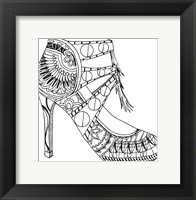 Framed Large Shoe