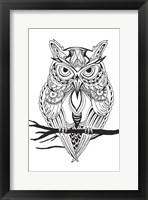 Framed Mean Owl
