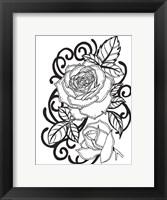 Framed Rose