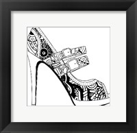 Framed Shoe Game