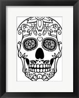 Framed Skull 20