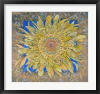 Framed Golden Flower