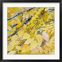 Framed Golden Leaves