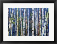Framed Mystery Of Trees-Birches