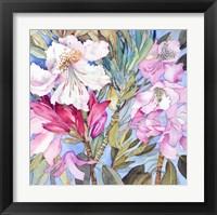 Framed Rhododendron I