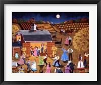 Framed Harvest Moon Dance