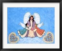 Framed Angel of Love