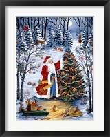 Framed Northwoods Christmas