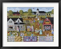 Framed Annual Quilt Sale