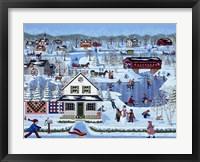 Framed Winter Sampler