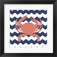 Framed Crab Chevron
