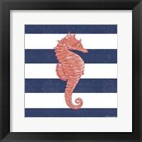 Framed Seahorse Stripe