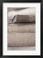 Framed Books Cameo II