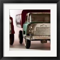 Green Truck Framed Print