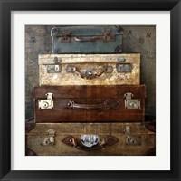 Framed Suitcases