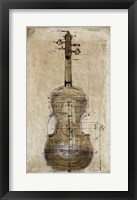 Framed Violin 2