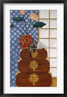 Framed Jasmine On Oriental Wedding Chests
