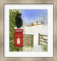 Framed Christmas Post Box