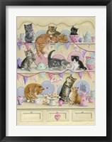 Framed Kittens On Dresser