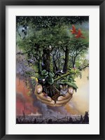 Framed Save The Rainforest