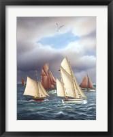 Framed Sailing Oldtimers