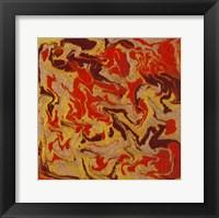 Framed Liquid Industrial IV - Canvas I