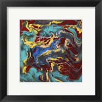 Framed Liquid Industrial IV - Canvas II