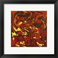 Framed Liquid Industrial IV - Canvas IV