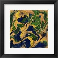 Framed Liquid Industrial IV - Canvas V