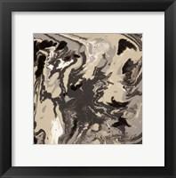 Framed Liquid Industrial IV - Canvas VI