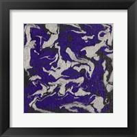 Framed Liquid Industrial IV - Canvas XI