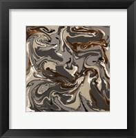 Framed Liquid Industrial IV - Canvas XIII