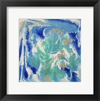 Framed Liquid Industrial IV - Canvas XVII