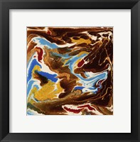 Framed Liquid Industrial IV - Canvas XIX