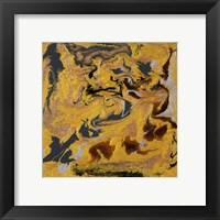 Framed Liquid Industrial IV - Canvas XXI
