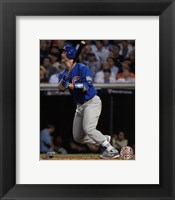 Framed David Ross Home Run Game 7 of the 2016 World Series