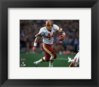 Framed John Riggins Super Bowl XVII Action