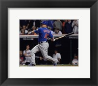 Framed Miguel Montero RBI Single Game 7 of the 2016 World Series