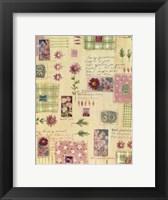 Framed Flower Collage 2