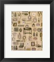Framed Lady's Vanity Collage