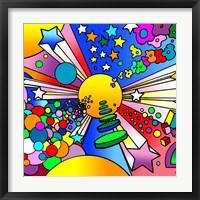 Framed Cosmic Expanding