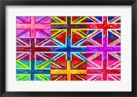 Framed Union Jacks