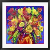 Framed Pop Flowers 215